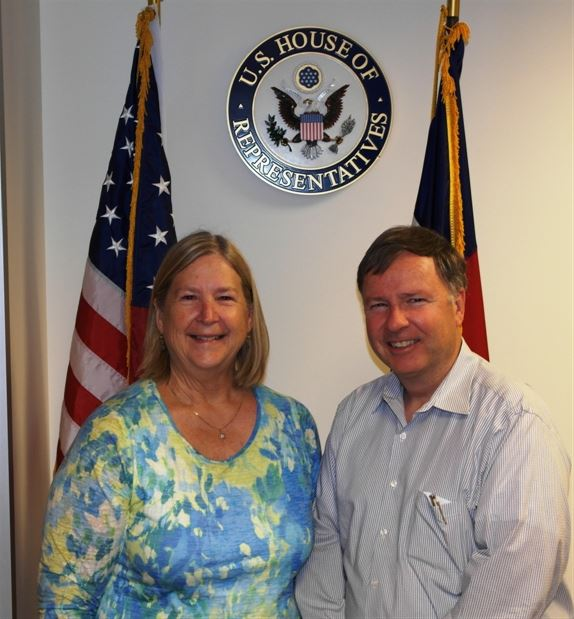 Government Relations Committe Member Chris Kinnard meets with Congressman Lamborn of Colorado