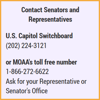 Contact Senators and Representatives
